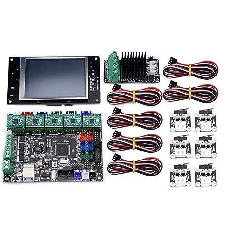 VYNBDA Accesorios para Impresoras 3D MKS Gen L Placa Base MKS TFT ...