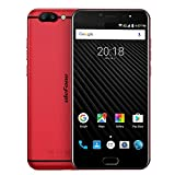 Ulefone T1 4G LTE Smartphone 5.5'' FHD Android 7.0 19201080 Screen Helio P25 Octa Core 2.6GHz 6GB RAM +64GB ROM Quick Charge 3680mAh Triple Cameras 13MP + 5MP + 16MP GPS Dual SIM Cellphone (Red)