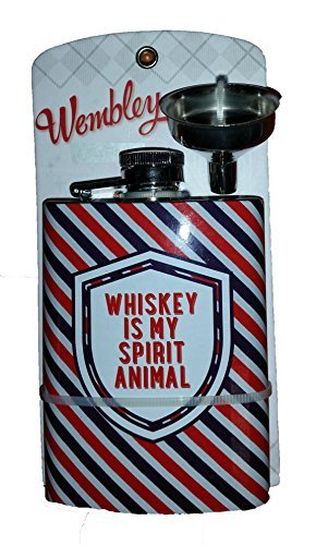 Wembley Whiskey Is My Spirit Animal - Flask Spirit