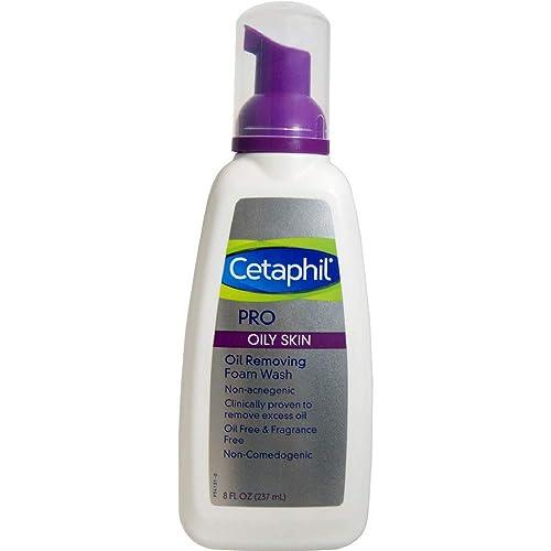 Cetaphil PRO Oil Removing Foam Wash 8 oz (Pack of 8)