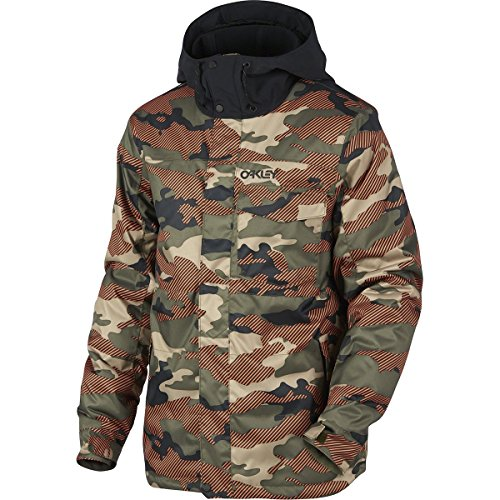 Oakley Division 10K Bzi Jacket, Warning Camo, - Jacket Oakley Camo