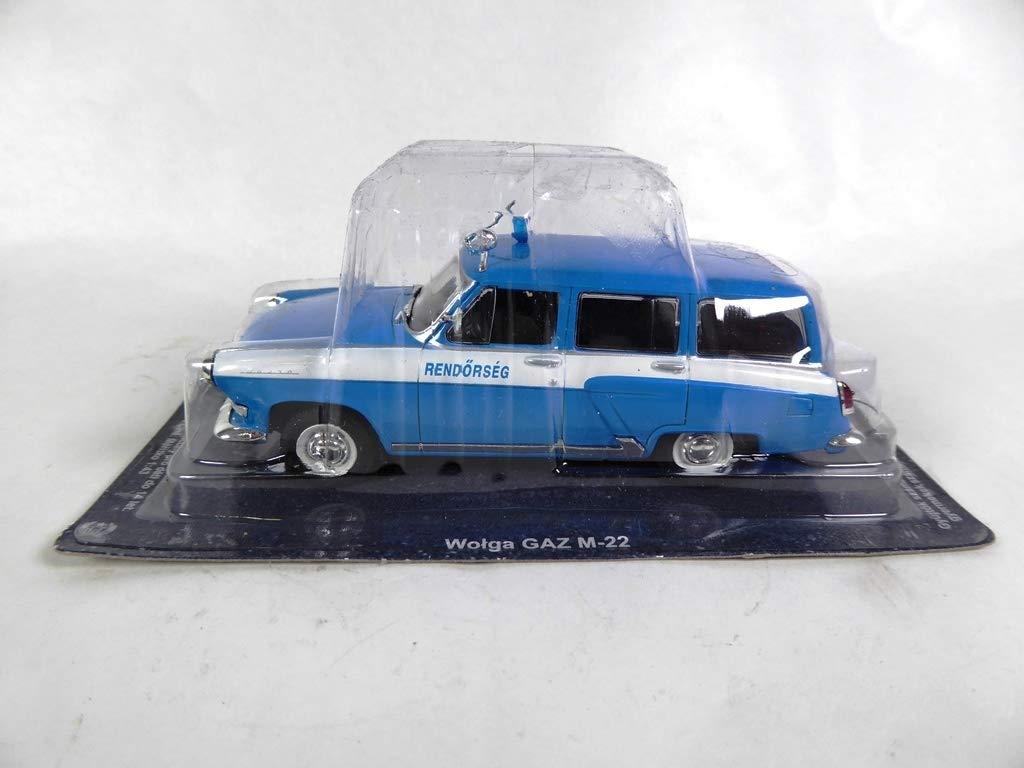 PM25 Hong OPO 10 GAZ-M-22 Volga 1//43 Collection Voiture de Police du Monde