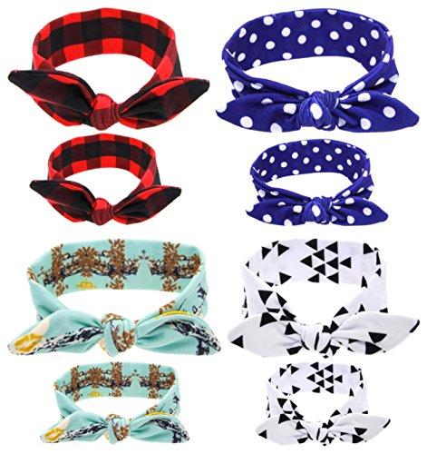 Qandsweet Parent Child Headband Bunny Hairband product image