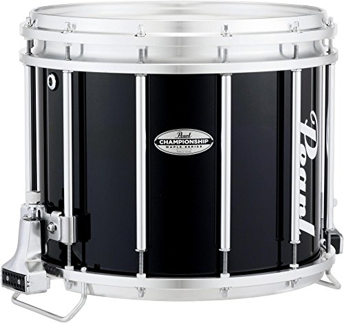 Pearl Championship Maple FFX Snare Drum 14 x 12 in. Midnight Black by Pearl