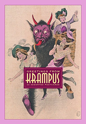 Greetings From Krampus: 24 Assorted Postcards