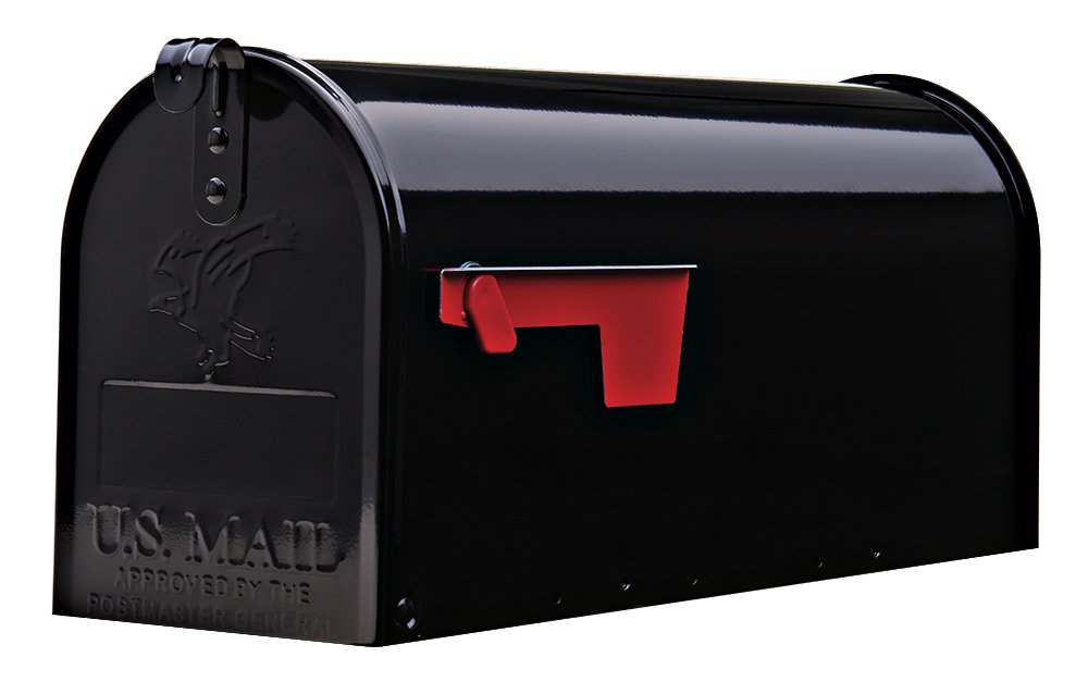 mailbox. Amazon.com: Gibraltar Mailboxes Elite Medium Capacity Galvanized Steel Black, Post-Mount Mailbox, E1100B00: SOLAR GROUP: Home Improvement Mailbox