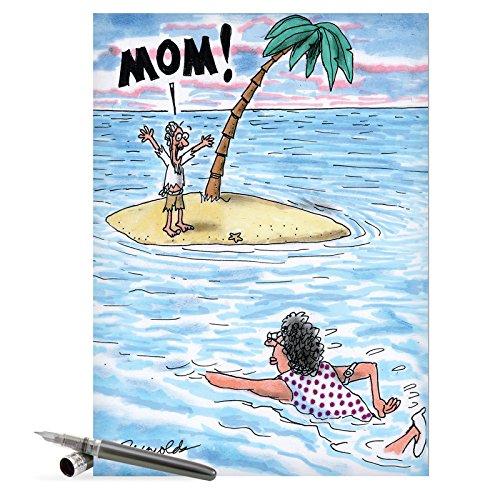 J0378 Jumbo Funny Mothers Card