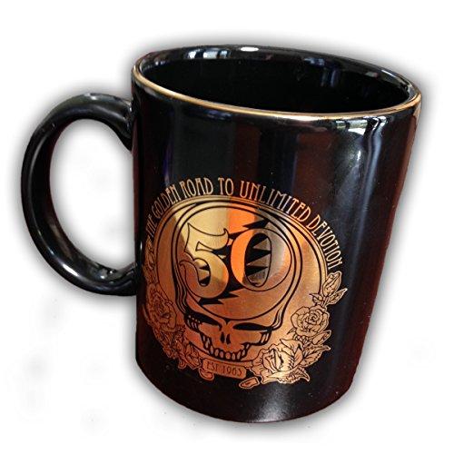 Mugs MG-0158 Grateful Dead 50th Anniversary Mug, Black