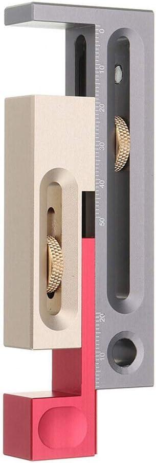 S/ägetischversteller Einsteck- und Zapfenwerkzeug Nahtanpassungsmessger/ät S/ägeschlitzversteller Holzbearbeitungswerkzeugtisch S/ägeschlitzversteller S/ägeschlitzversteller