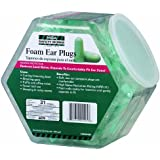 MSA Safety Works 10059484 Expandable Foam Ear Plugs in Counter Display, 100-Pair