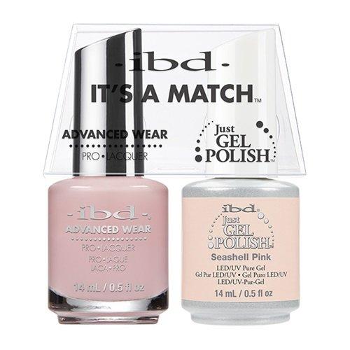 ibd Advanced Wear Color Duo Seashell Pink #477 UV Gel - Color Seashell