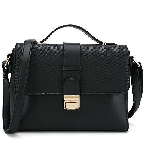 Designer Women's Stylish Bags Shoulder Cross Ladies Black Purses Handbags Body for wCfZXn7qC