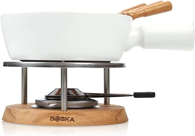 Boska Fondue Set Bianco 1,3 L geeignet für Käsefondue