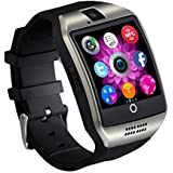 Apple iPod Touch 4th Generation Compatible High quality smart calling watch with all functions of smartphones 2017 Newest Q18 Smart Watch Bluetooth Smartwatch Phone with Camera TF SIM Card Slot by sontiga