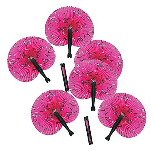 Fun Express Inc. 24 Pink Perfectly Paris Folding