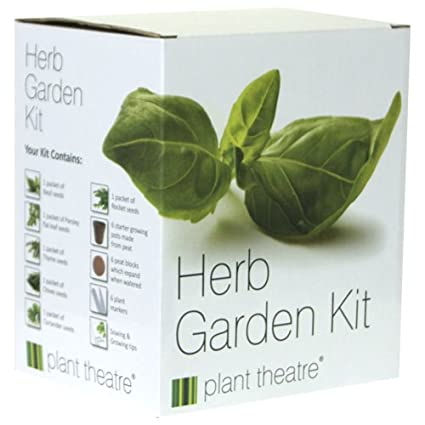 Exceptionnel Plant Theatre Herb Garden Seed Kit Gift Box   6 Different Herbs To Grow,  Includes