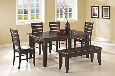 Coaster Newport Dining Table, Cappuccino