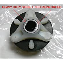 285753A NEW DESIGN HEAVY DUTY STEEL REINFORCED CENTER GENUINE AFTERMARKET WASHER MOTOR COUPLER COUPLING FOR WHIRLPOOL KENMORE SEARS ROPER KITCHENAID M
