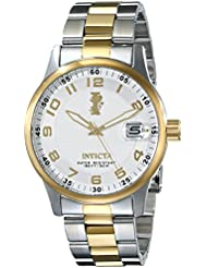 Invicta Mens 15260 I-Force 18k Gold Ion-Plated Stainless Steel Watch with Link Bracelet