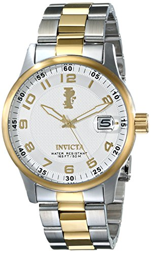 Bracelet Silver Invicta Tone - Invicta Men's 15260 I-Force 18k Gold Ion-Plated Stainless Steel Watch with Link Bracelet