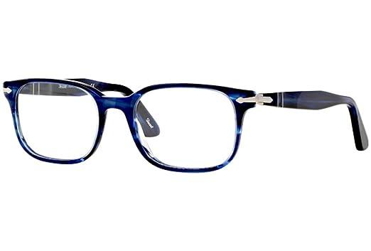 Persol Eyeglasses 3118V 3118/V 943 Striped Blue Full Rim Optical ...