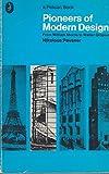 Pioneers of Modern Design, Nikolaus Pevsner, 0140204970