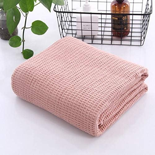 GEINIFAFA Cobija Algodón a cuadros gofre manta de verano sofá cama toalla edredón mujeres envoltura manta manta manta manta de tiro para la oficina del coche: Amazon.es: Amazon.es