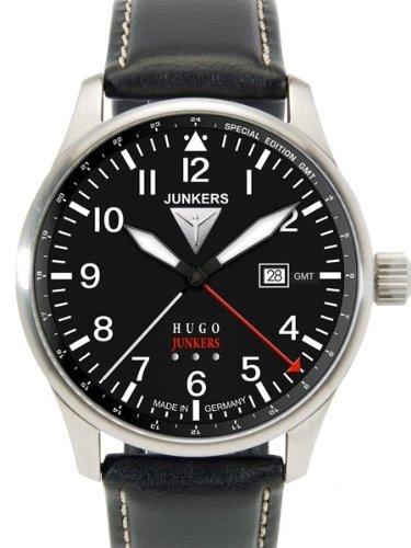 Junkers 150 Years Hugo Junkers Anniversary GMT Watch 6644-2