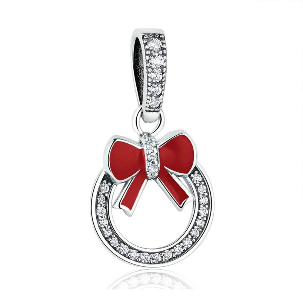 Reiko Arc 925 Argent Charms Bricolage Perles Pour Filles, Cadeau De Noël Pour Femme Fille, Coffrets Cadeaux, Sans Nickel Cadeau De Noël Pour Femme Fille