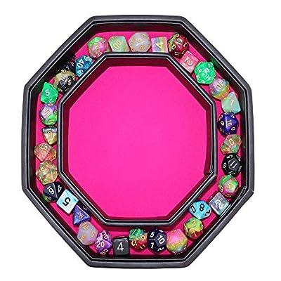 Fantasydice- Pink - War Unicron- Dice Tray - 8