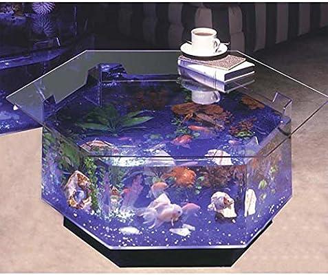 Aqua Octagon mesa de café 40 L Acuario: Amazon.es: Productos para ...