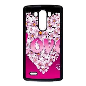 Love Pink LG G3 Cell Phone Case Black SA9677874