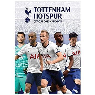 Tottenham Hotspur Official (Premier League) Spurs 2020 Soccer Calendar (A3 420mm x 297mm)