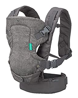 Along with it multiple carrying options and grow with baby flexibility this convertible wonder offers an ergonomic seat for optimal baby hip positioning, a super supportive waist belt and adjustable padded straps for long term wearability. 4 ways to ...