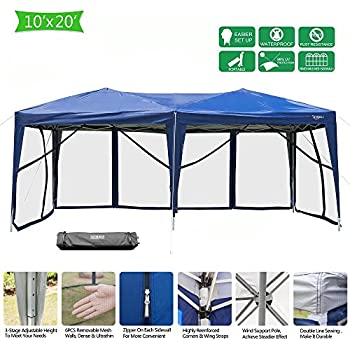 Amazon Com Shelterlogic Maxap 2 In 1 Canopy With Screen