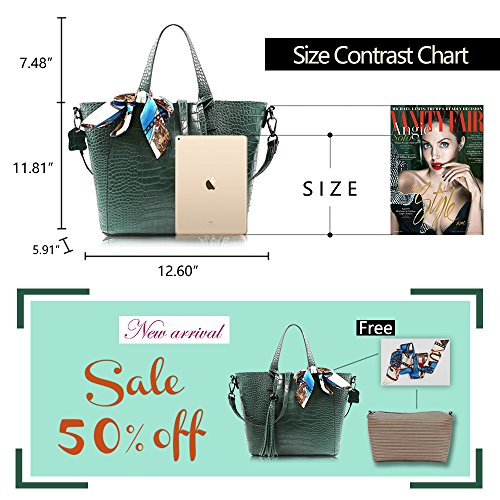 Mulberry Handbags green Bags Women Tote Shoulder Satchel DILER Purse Bag x8w7T