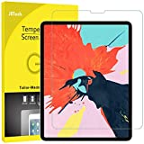 JETech Screen Protector for Apple iPad Pro 12.9-Inch (3rd Generation 2018 Model, Edge to Edge Liquid Retina Display), Face ID Compatible, Tempered Glass Film