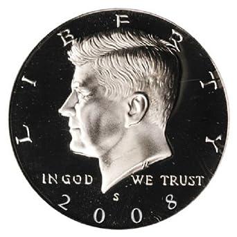 2008 S Proof Kennedy Half Dollar Clad Proof Coin Key Date San Francisco Mint