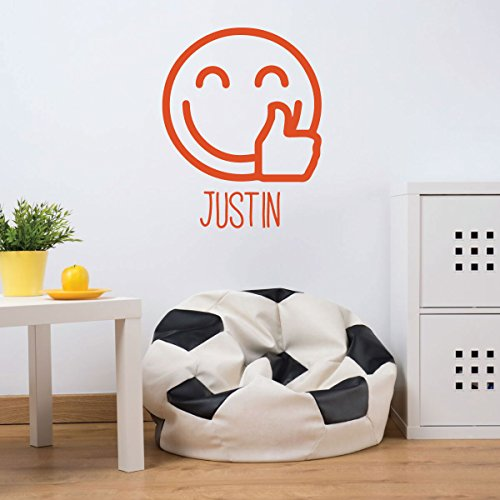 humps Up - Personalized Vinyl Decorations for Boys or Girl's Bedroom, Playroom Decor (Thump Wall)