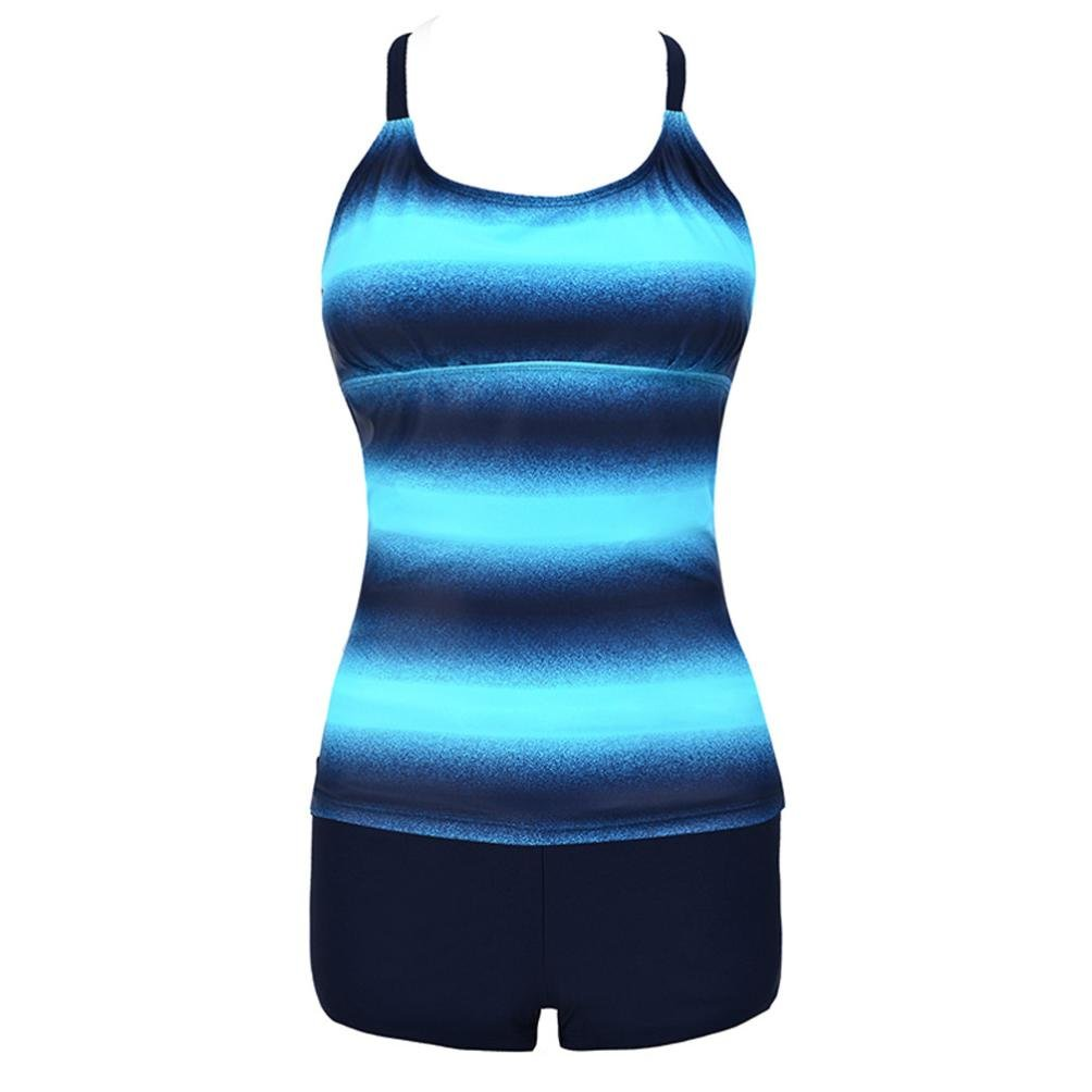Witspace Women Swimwear Plus Size Tankini Bikini Beach Bathing Suit 5XL Swimsuits