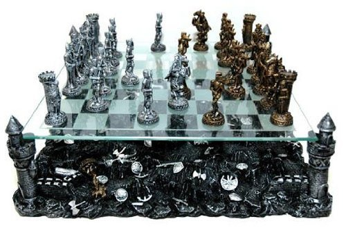 Classic Strategy (Renaissance Knight Chess Recreational Classic Strategy Game Set)