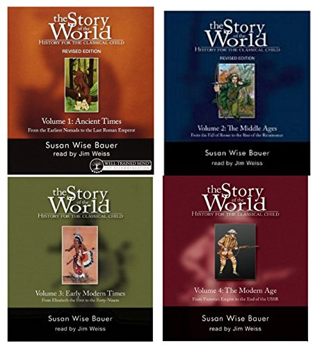 Story of the World Audiobook Collection, Volumes 1-4 Books on CD