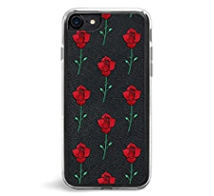 Zero Gravity Apple iPhone 7/8 Hello Phone Case - Embroidered Pop Art Design - 360° Protection, Drop Test Approved