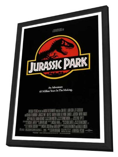Jurassic Park - 27 x 40 Framed Movie Poster