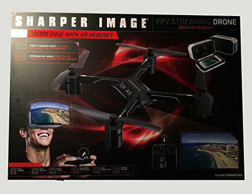 Sharper Image DX-4 HD Video FPV Streaming