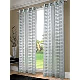 "INFINITY Curtain panel, 8 grommets 50X96"" (GREY)"