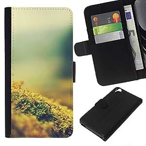 All Phone Most Case / Oferta Especial Cáscara Funda de cuero Monedero Cubierta de proteccion Caso / Wallet Case for HTC Desire 820 // Plant Nature Forrest Flower 8