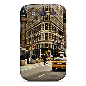 Durable Defender Case For Galaxy S3 Tpu Cover(welcome To New York) by icecream design