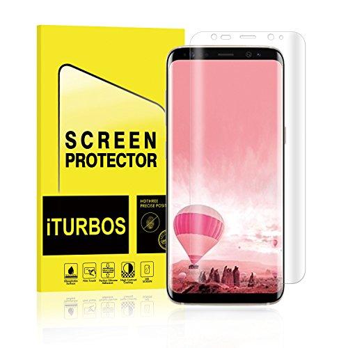 Galaxy S8 Screen Protector,iTURBOS full screen 3D screen protector film for Samsung Galaxy S8 [2 Pack]