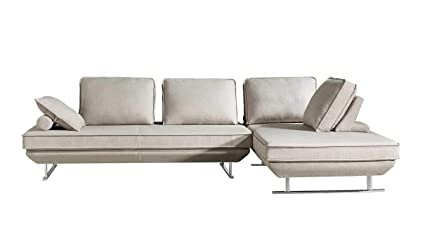 Etonnant ESF Furniture Bergamo Sectional Sofa W/Sleeping Option In Beige